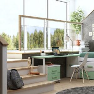 conjunto mueble juvenil